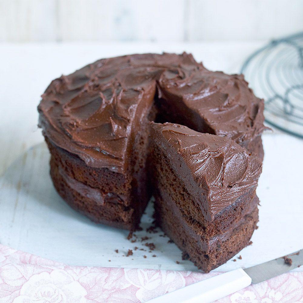 Chocolate Fudge Cake Easy And Delicious Recipe