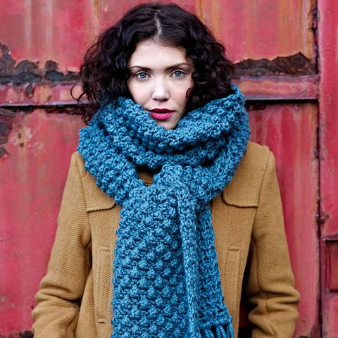 how to knit a scarf