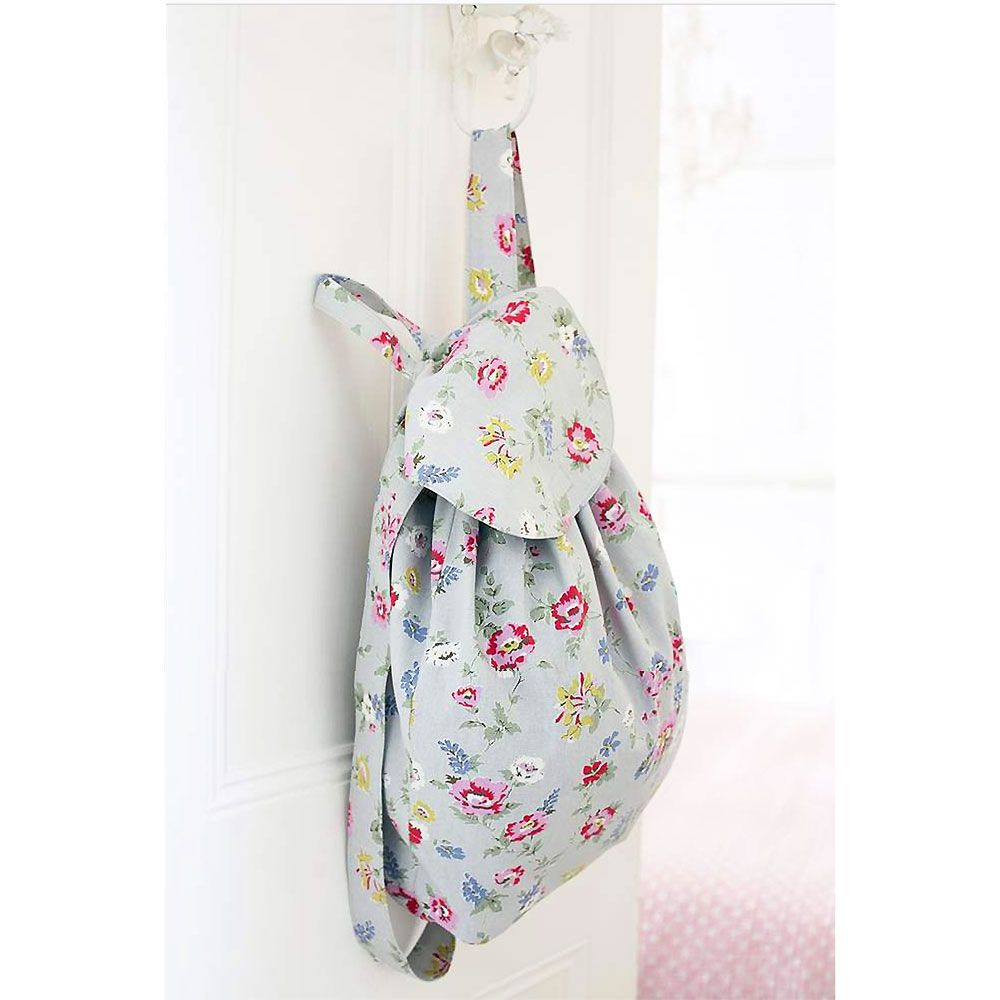 Mini Backpack sewing kit Toddler backpack DIY craft kit for adults