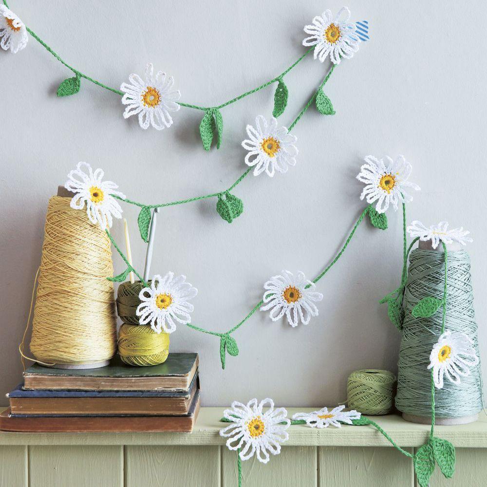 Decorative daisies add crochet flowers to your home izmirmasajfo