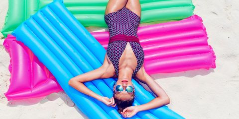 Figleaves print swimsuit