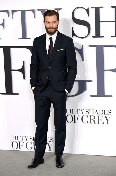 Actor Jamie Dornan as Christian Grey
