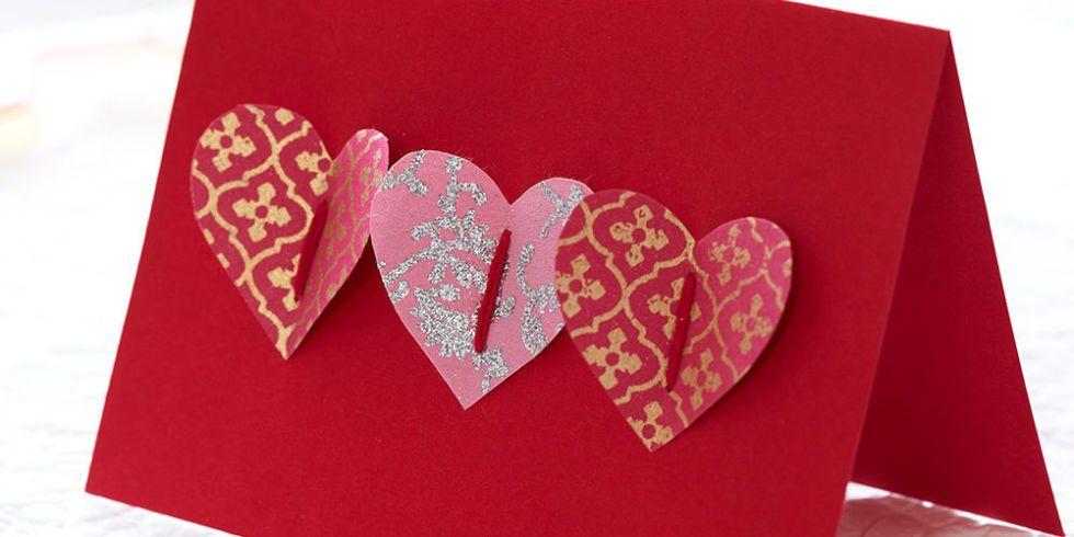 How To Make A Handmade Valentine S Card Homemade Pop Up Heart Card