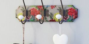 How To Decoupage Coat Hooks