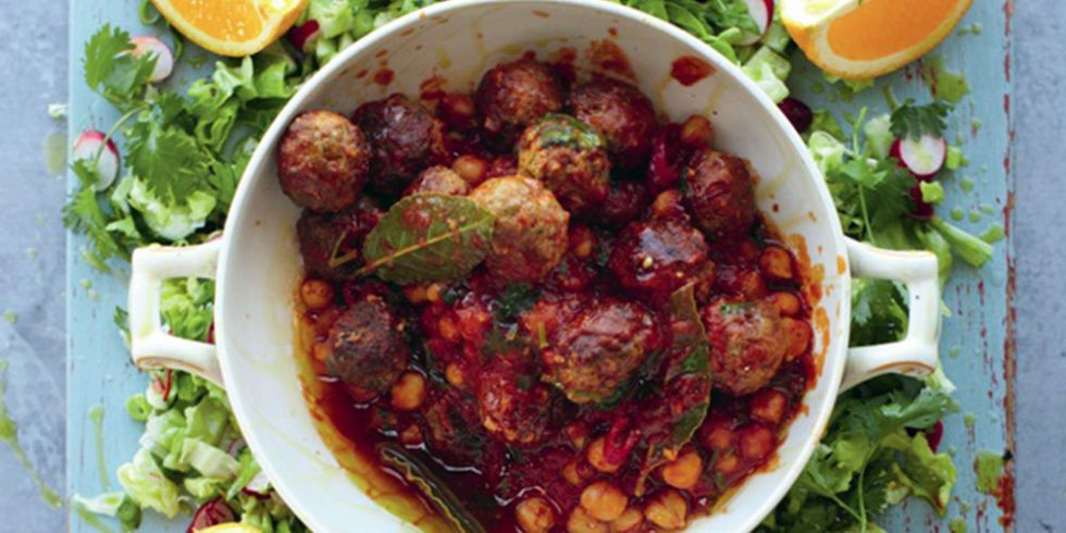 Jamie Oliver S Lamb Meatballs Recipe 15 Minute Meals