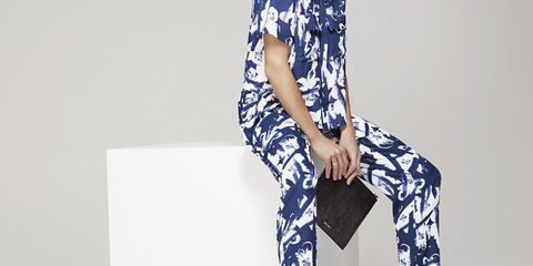 Pied A Terre At House Of Fraser Gigi Printed Shirt And Trousers