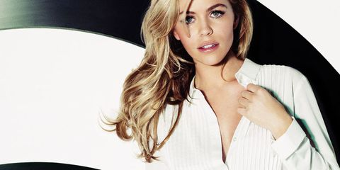 Abbey Clancy for Fashion Targets Breast Cancer