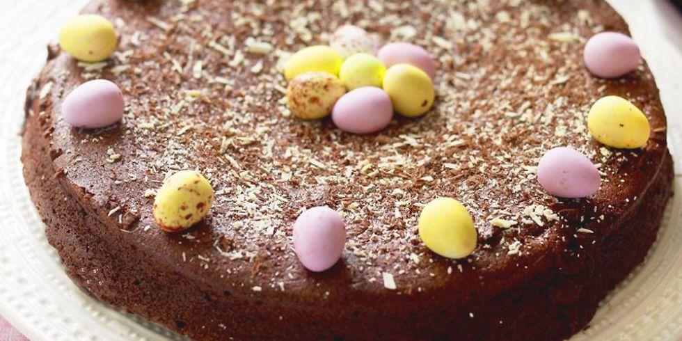 Dark Chocolate And Amaretto Cake