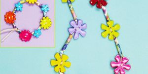 Button jewellery to make
