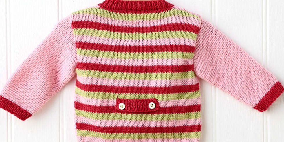 How To Knit A Baby Cardigan