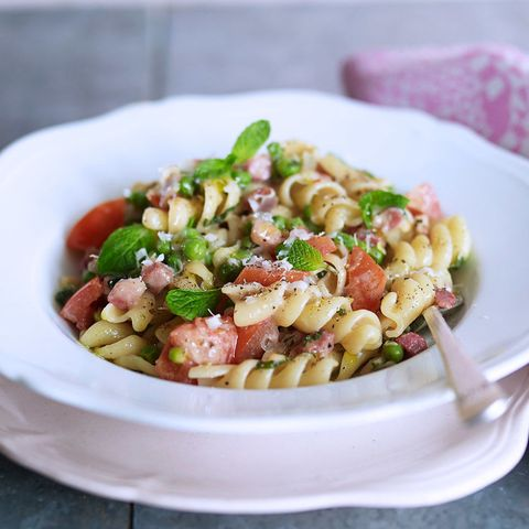 Goats cheese pasta
