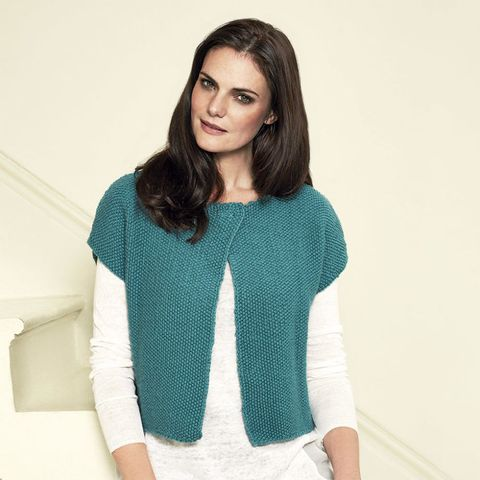 How to knit a spring jacket