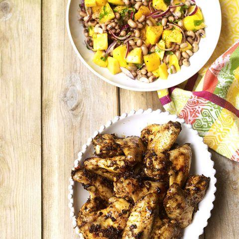 Jerk Chicken And Mango Salad