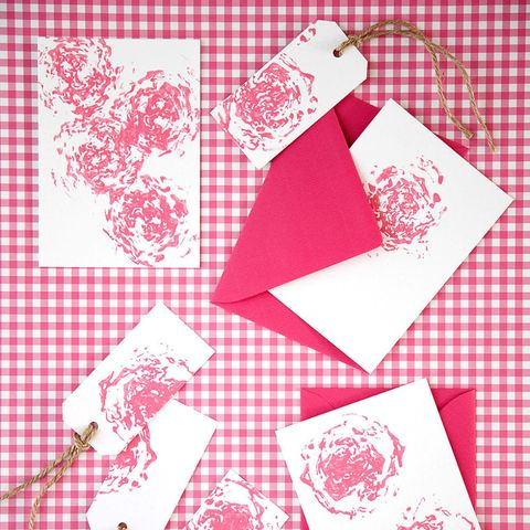 Making note cards and gift tags