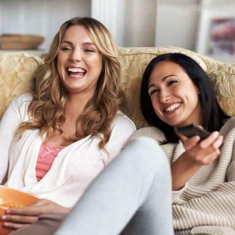 Women friends laughing