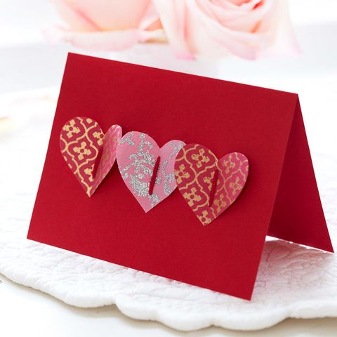 How To Make A Handmade Valentine S Card Homemade Pop Up Heart Card