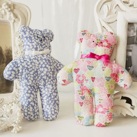 Super-Cute Soft Toy Teddy Sewing Pattern