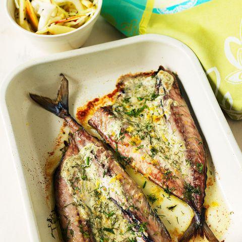mackerel recipe with coleslaw