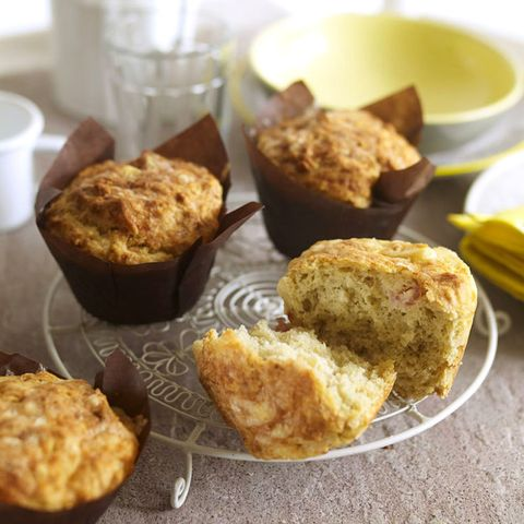 Bacon and cheese breakfast muffins