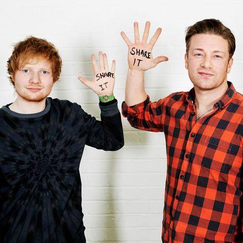 Jamie Oliver Ed Sheeran