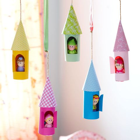 How To Make A Paper Castle Decoration