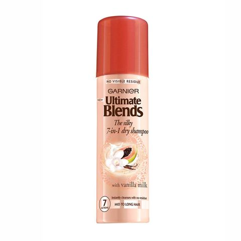 Garnier Ultimate Blends, The Silky 7-in-1 dry shampoo