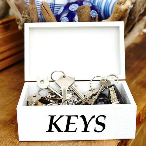 Homemade Key Box