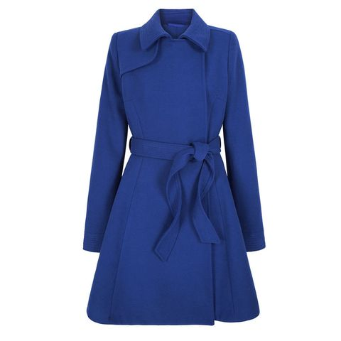 ISME fit and flare coat