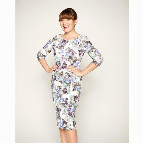 JD Williams floral print dress