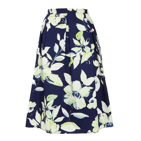 Florence & Fred at Tesco floral print skirt