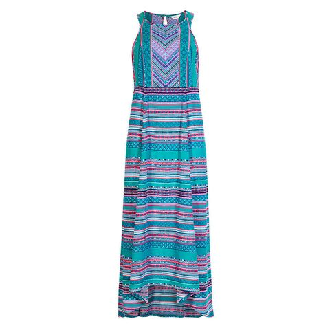 Lulu Kennedy for Indigo Collection Tile Print Maxi Dress