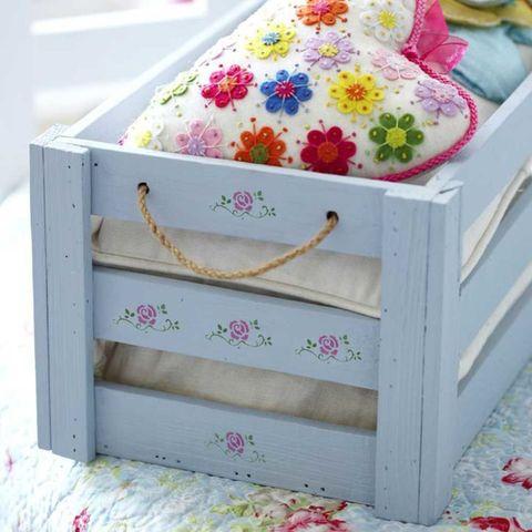 Painted storage box
