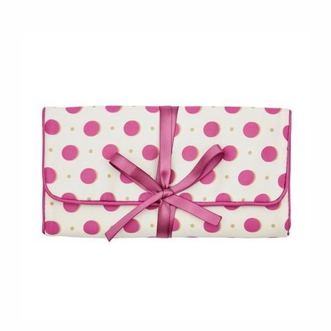 Laura Ashley Darcey Spot Jewellery Roll