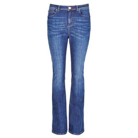 M&S Per Una Roma Rise kickflare denim jeans