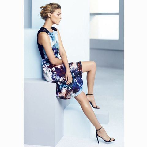 Coast spring summer 2015 campaign digital floral print dress