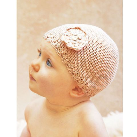 Cute Baby Hat Knitting Pattern