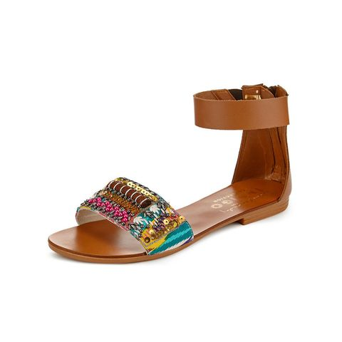Lulu Kennedy for Indigo Collection at M&S leather embellished sandals