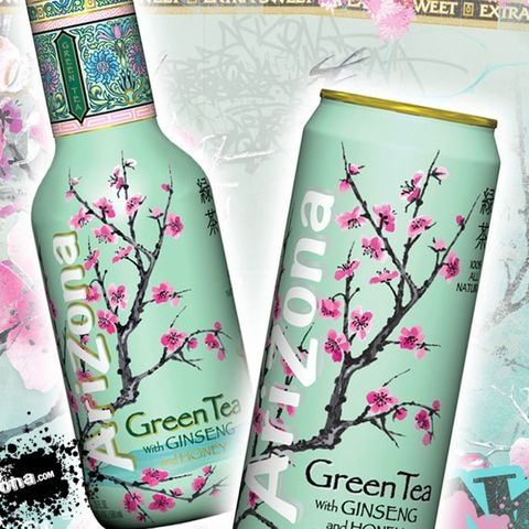 Arizona Green tea healthy drinks