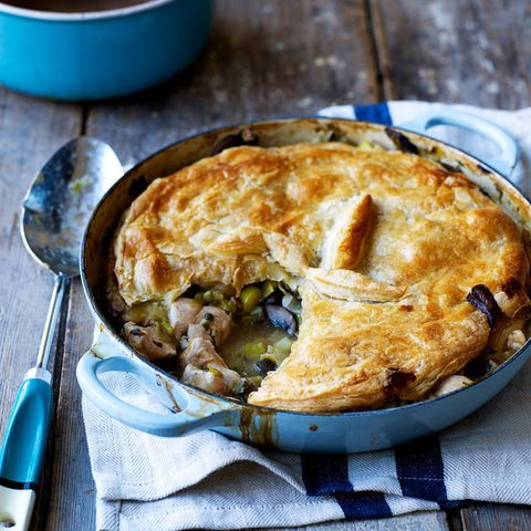 Chicken pot pie – comfort food at its finest