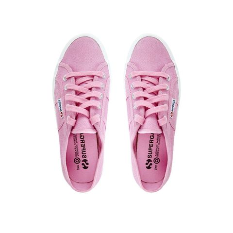 Superga Fashion Targets Breast Cancer pink trainer