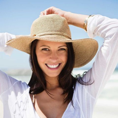 Woman summer hat