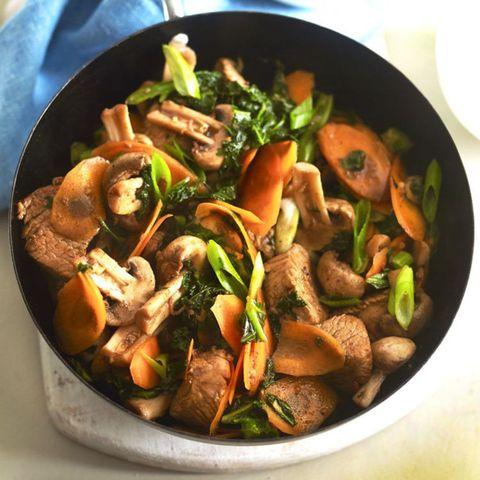 Turkey Stir Fry With Kale