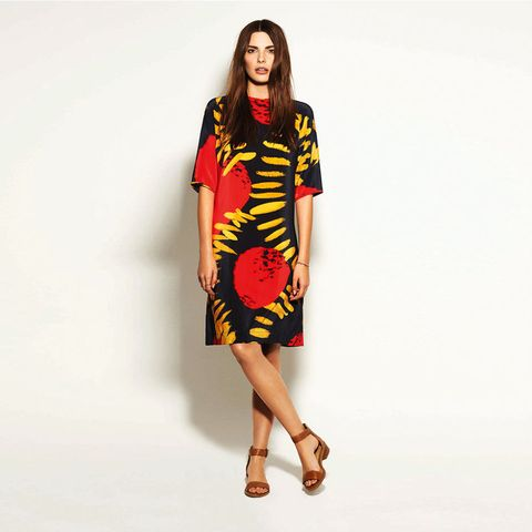 Monsoon for Royal College of Art Sunray printed dress