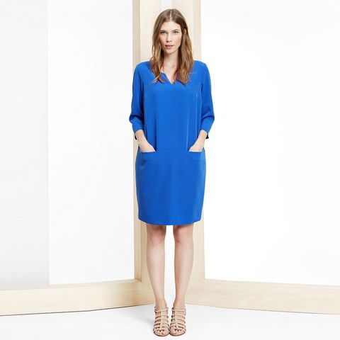 Violeta at Mango pocket shift dress