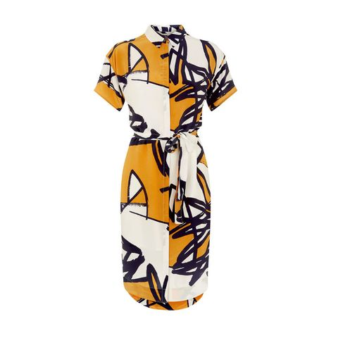 Monsoon for Royal College of Art Daisy shirt dress