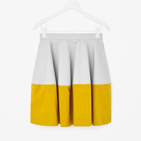 Cos colour block skirt