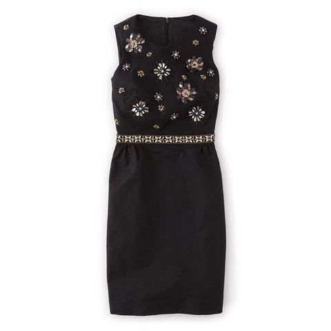 Boden embellished floral dress