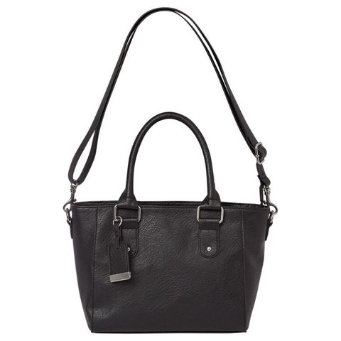 George at Asda black small tote bag