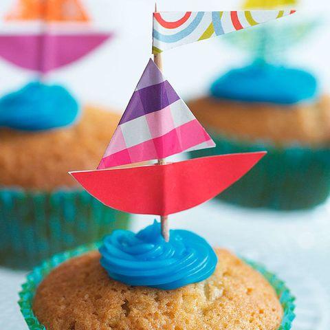 Homemade Cupcake Toppers