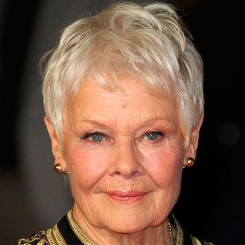 Judi Dench grey hair